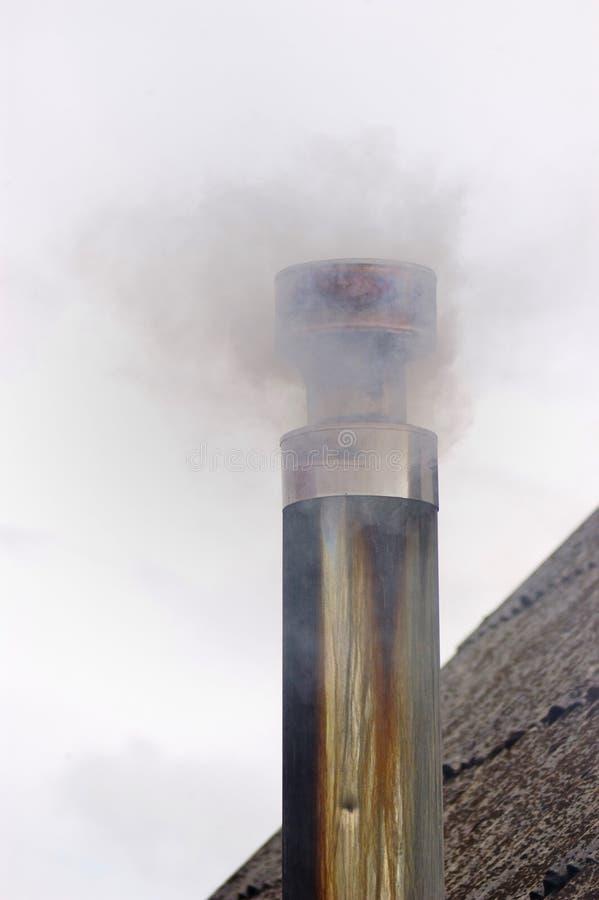 Da poluição do fumo imagens de stock
