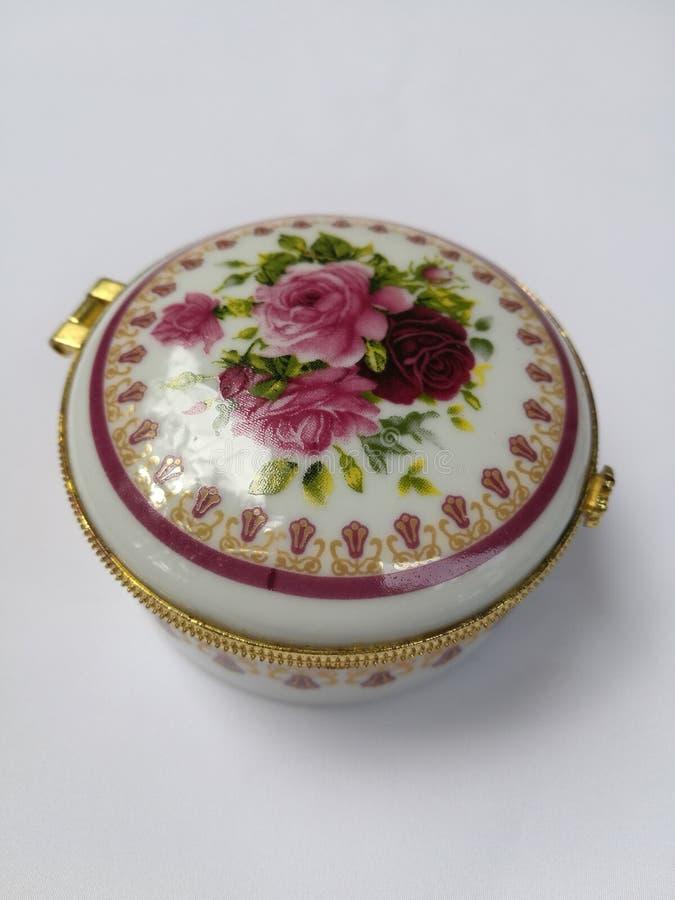 Da porcelana caixa jewerly fotos de stock royalty free