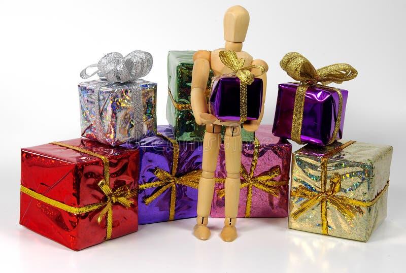 Download Dać prezent zdjęcie stock. Obraz złożonej z zawijający, wakacje - 40226