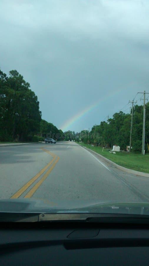 Da qualche parte è un arcobaleno fotografia stock libera da diritti