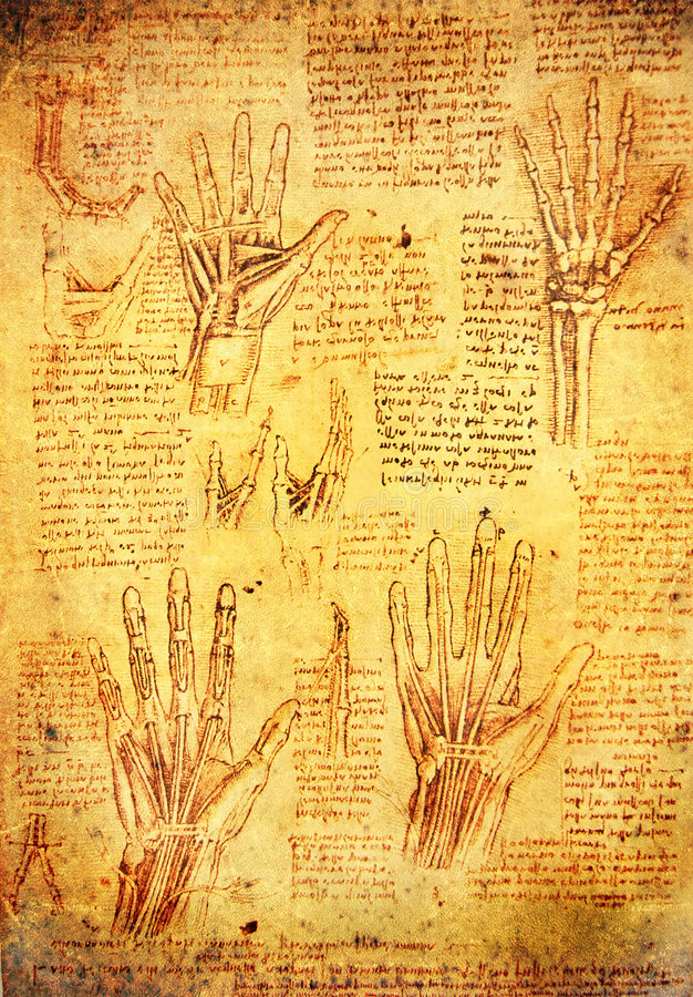 Download Da vinci hands editorial photo. Illustration of hand, famous - 9034306