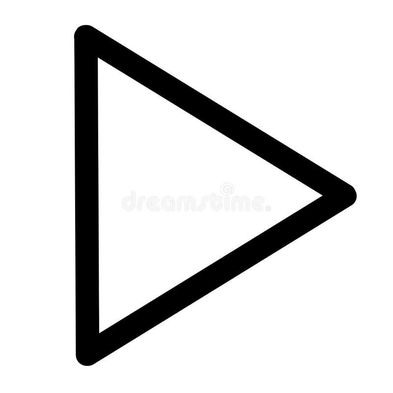 Daarna, spelpictogram vector illustratie