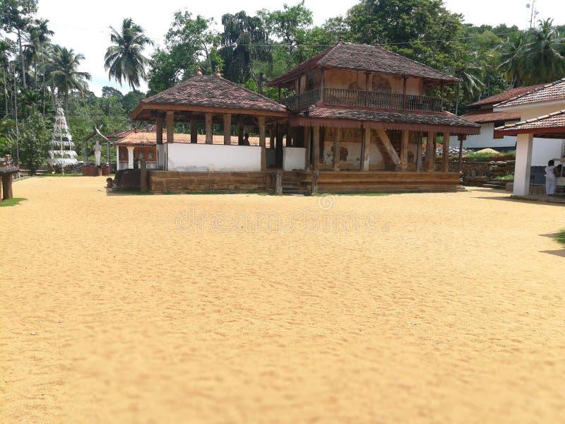 Dabadeniya寺庙斯里兰卡 库存图片