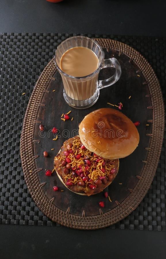 Dabeli sandwich royalty free stock images