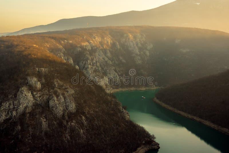 Dabrac dolina obrazy stock