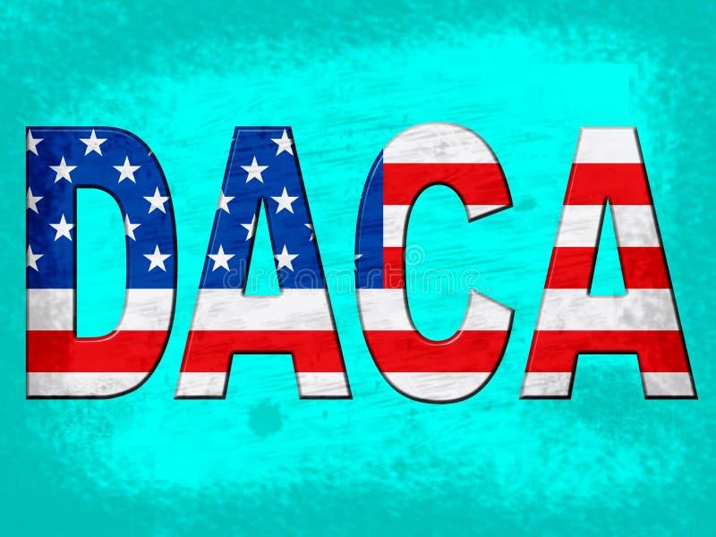 Daca孩子我们的梦想家立法移民-第2个例证 皇族释放例证