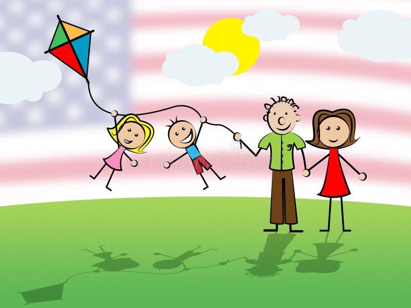 Daca孩子我们的梦想家立法移民-第2个例证 库存例证