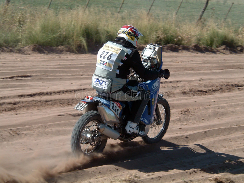 Dacar Argentina 2009 o Chile 003 fotografia de stock
