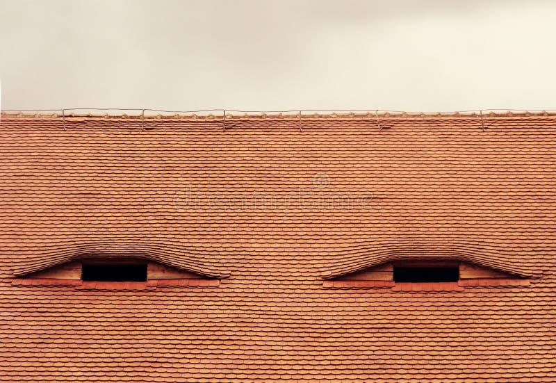 Dach lizenzfreie stockfotografie
