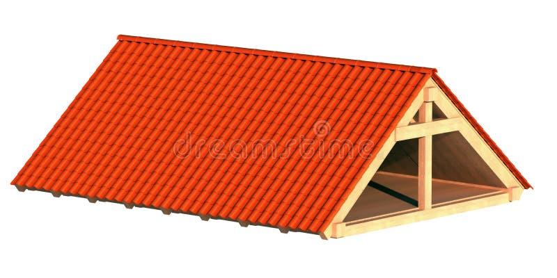 Dach stock abbildung