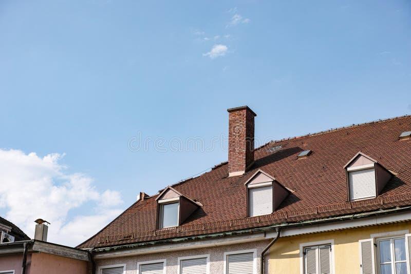 Dach lizenzfreies stockbild