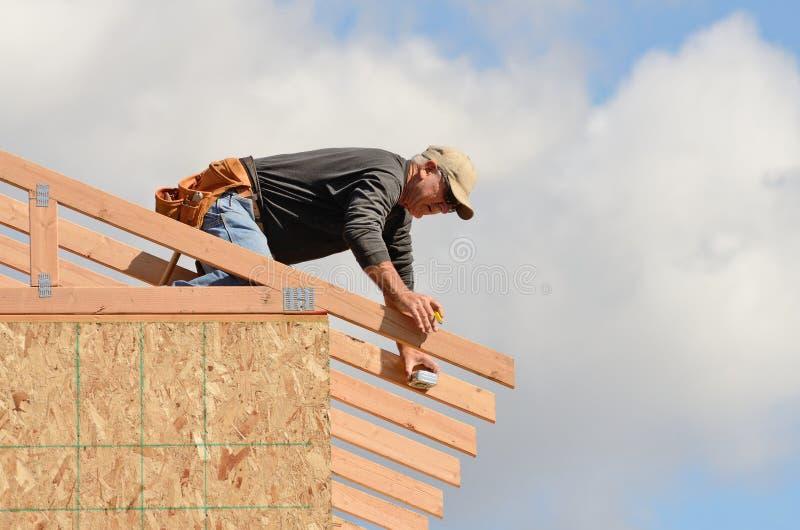 Dach-Dachsparren stockbilder