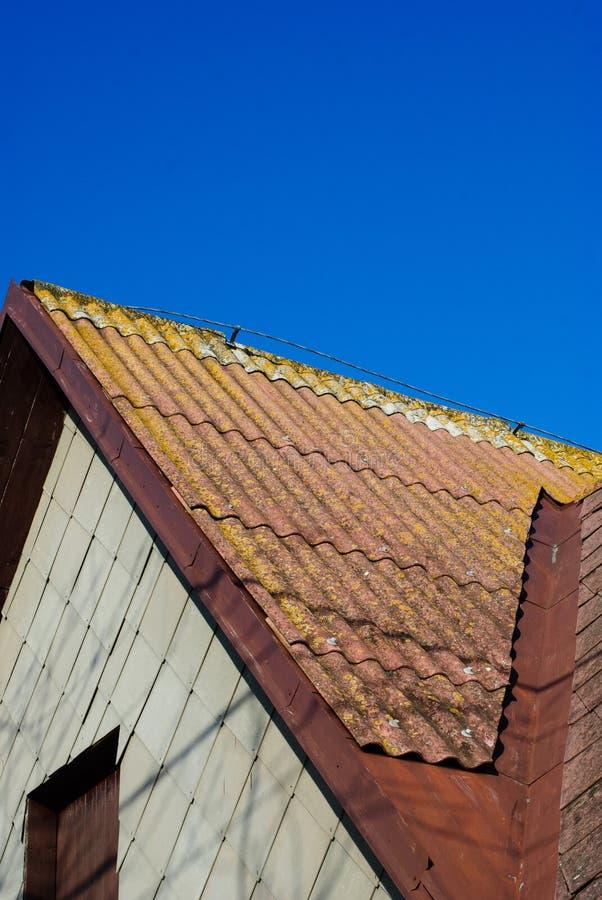 Dach-Detail stockbilder