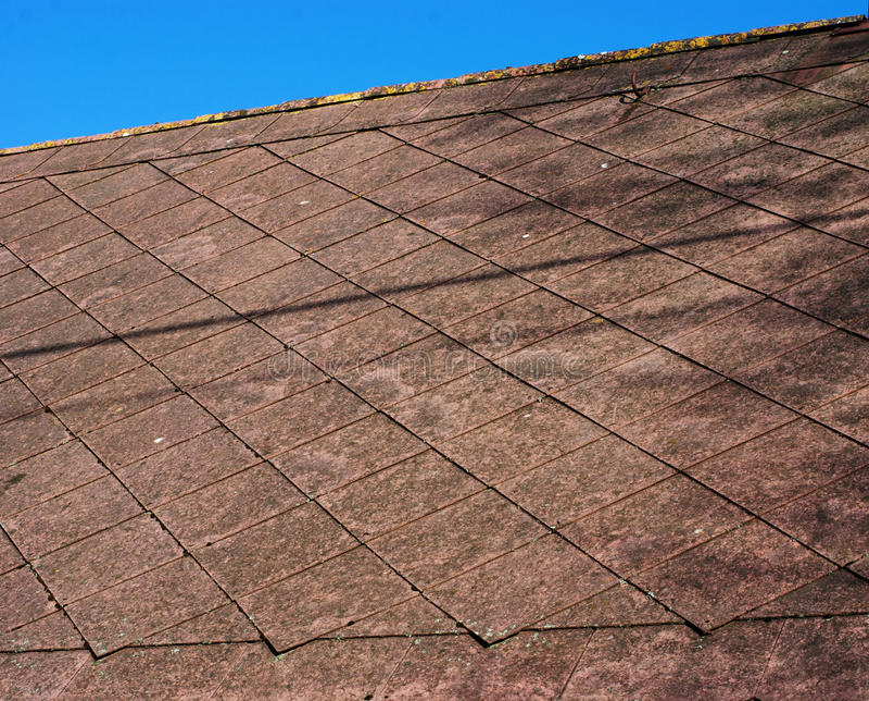 Dach-Detail stockfotografie