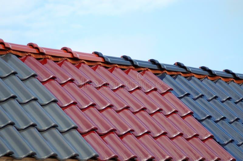 Dach-Fliese stockbild