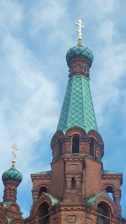 Dach kościół w Tampere w Finland zdjęcie royalty free