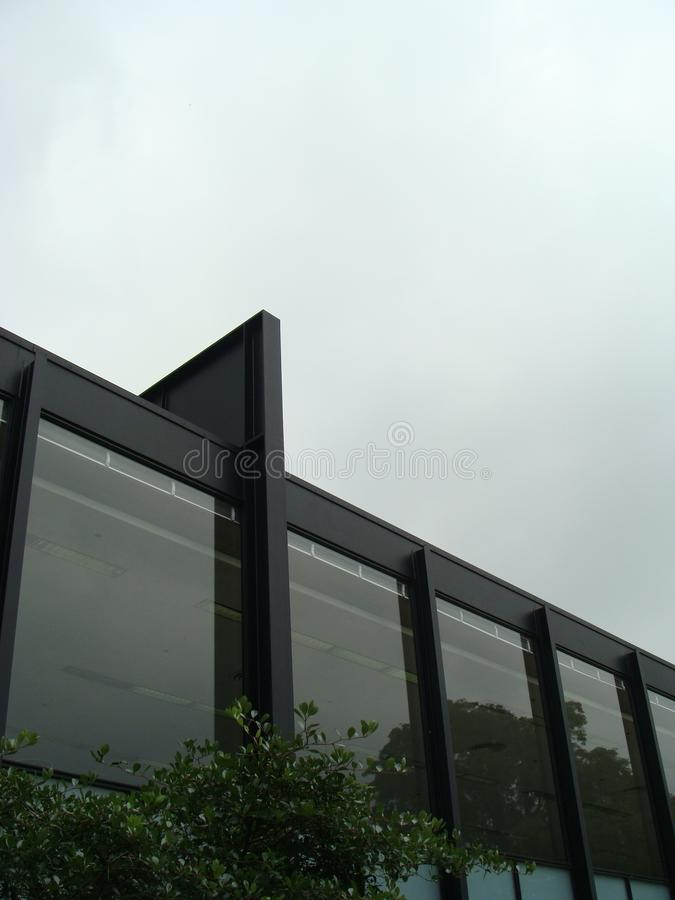Dach-Linie, Krone Hall stockfotos