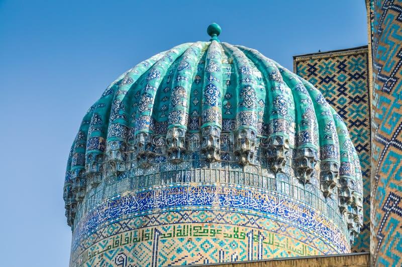 Dach in Samarkand lizenzfreies stockfoto
