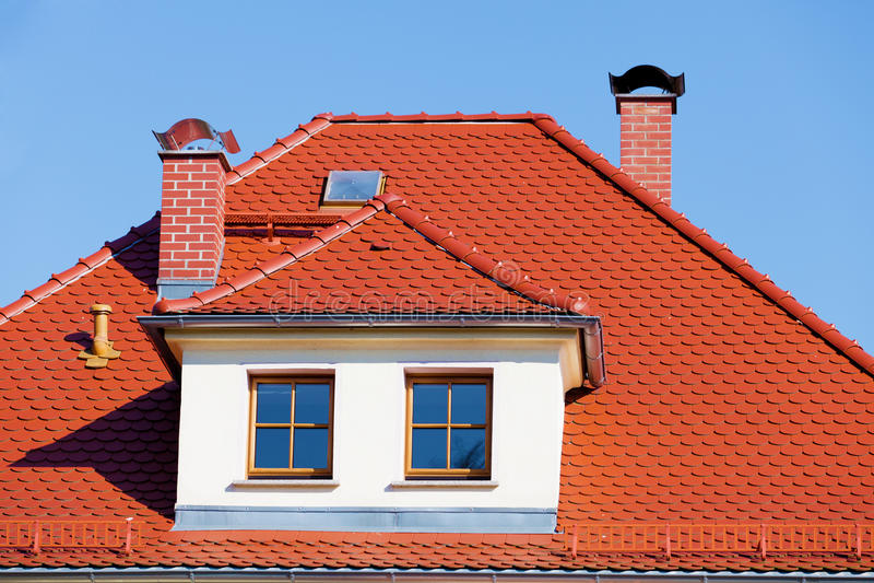 dach taflujący obraz royalty free