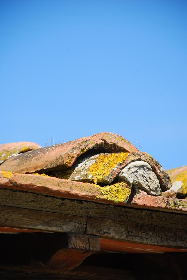 dach taflujący szczególne obraz stock