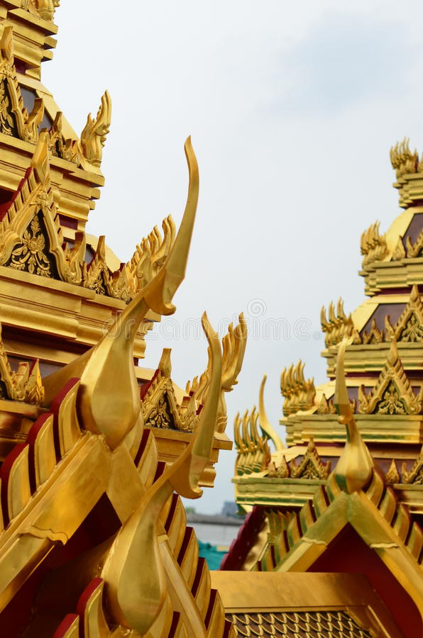 dach thai świątyni obrazy royalty free