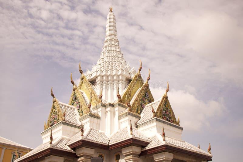 Dach von Buddha stockbild