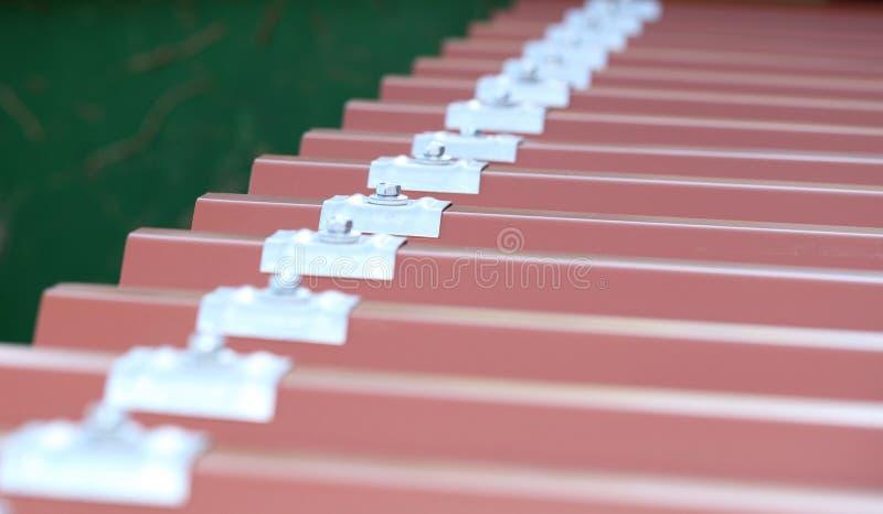 Dach zakrywa fotografia stock