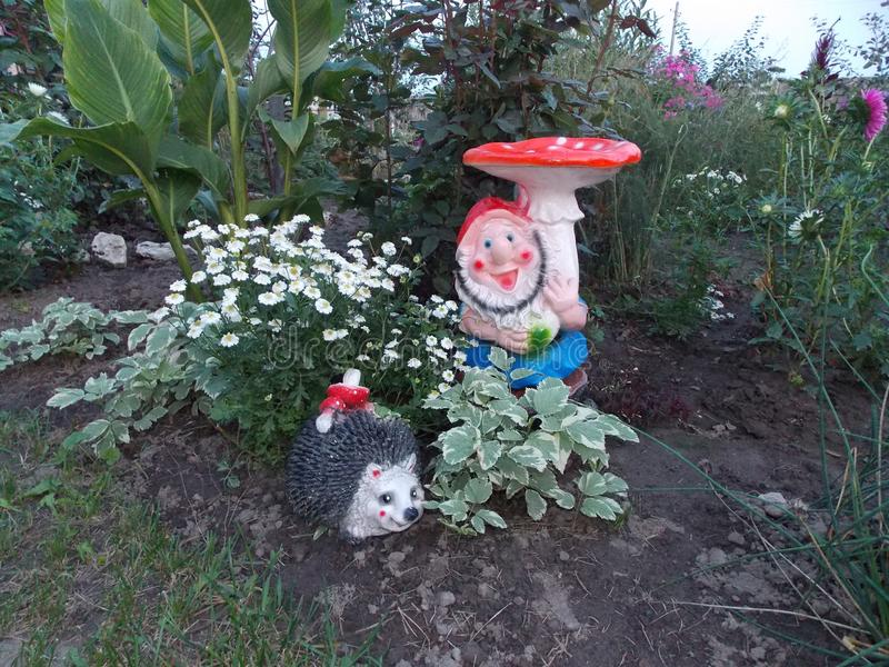 At the dacha royalty free stock images