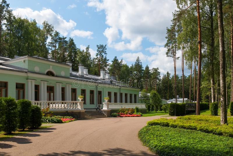 Dacha of Joseph Stalin in Valdai. On a summer day royalty free stock photography