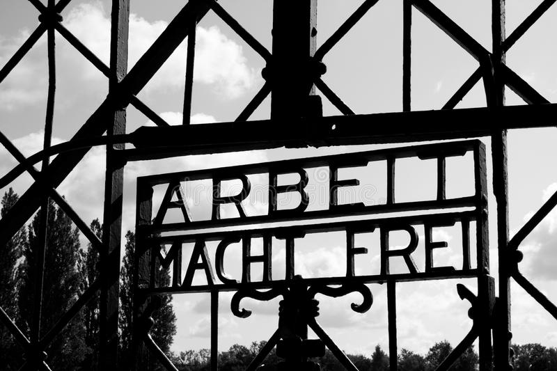 Download Dachau Concentration Camp Gate Editorial Image - Image: 21212140