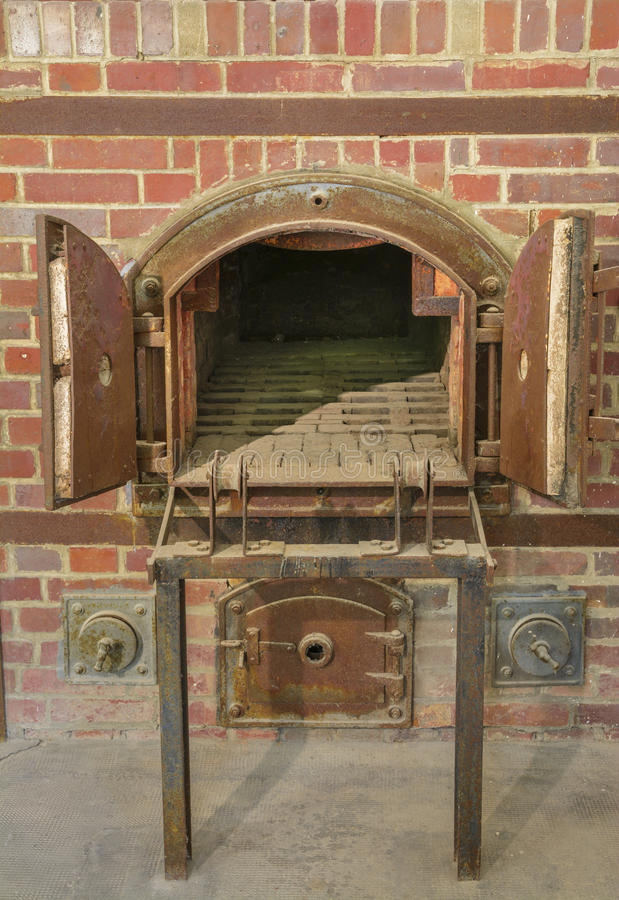 Dachau concentration camp oven crematorium royalty free stock image