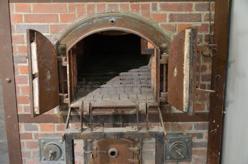 Dachau - crematorios de los hornos 2-1 imágenes de archivo libres de regalías