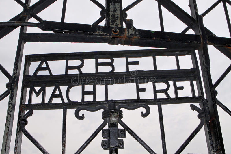 Download Dachau Entrance (concentration Camp) Editorial Stock Image - Image: 19535104