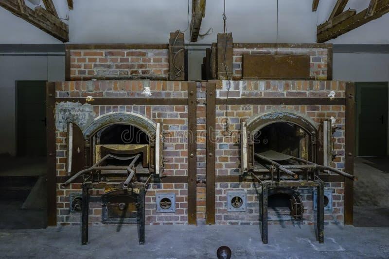 Dachau Koncentracyjnego obozu Pamiątkowy miejsce zdjęcie royalty free