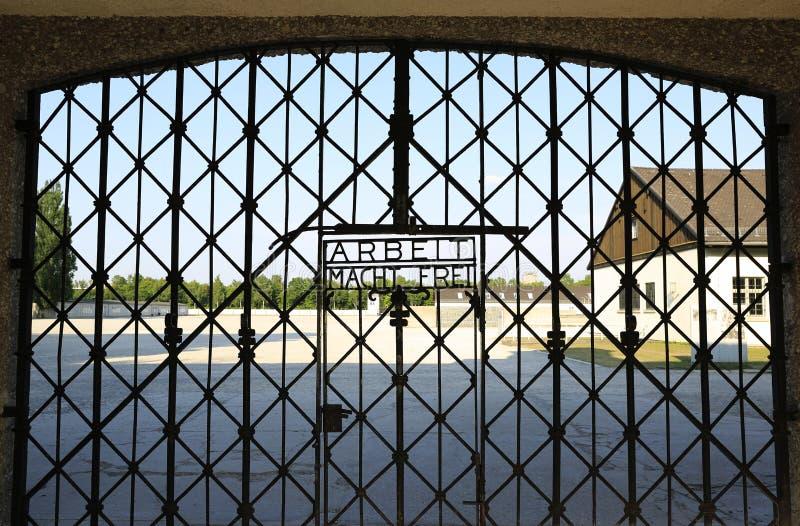 Dachau Koncentracyjny obóz obraz stock