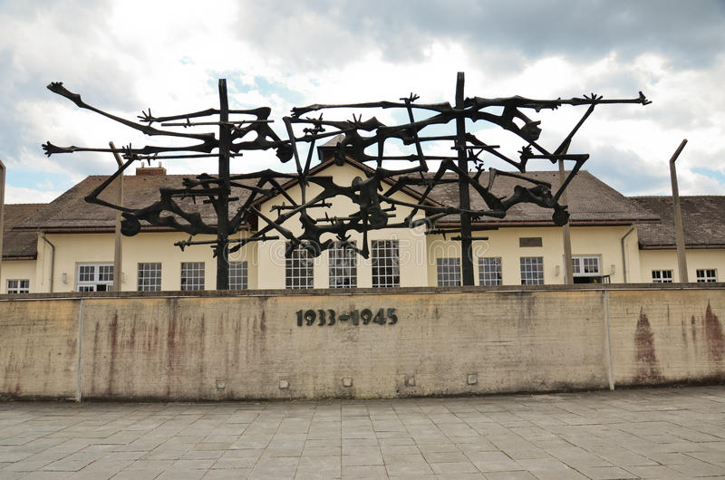 Dachau -memorial royalty free stock photo