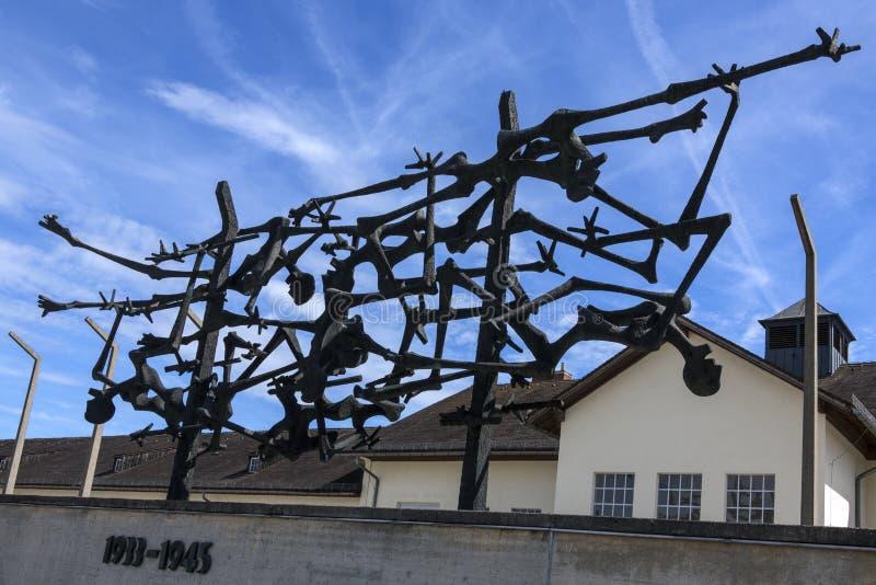 Dachau Nazi Concentration Camp - Deutschland stockbilder