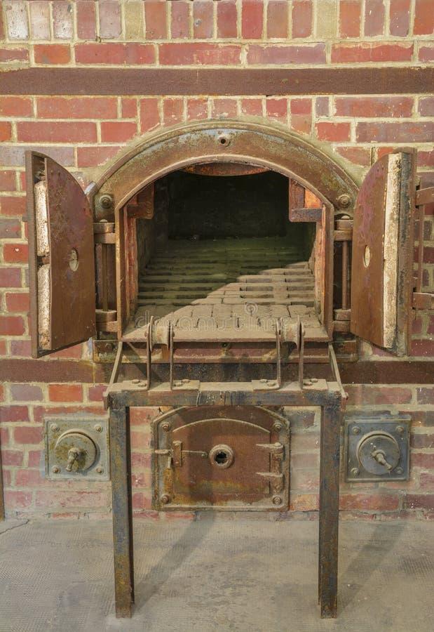 Dachau obozowego piekarnika koncentracyjny crematorium obraz royalty free