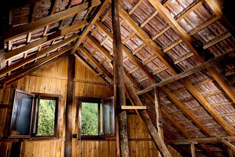 Dachboden stockbild