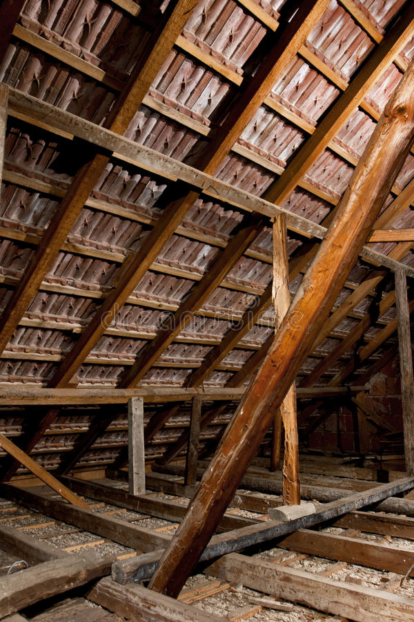 Dachboden stockfoto