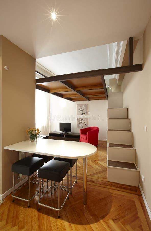 Dachbodeninnenraum stockfotos