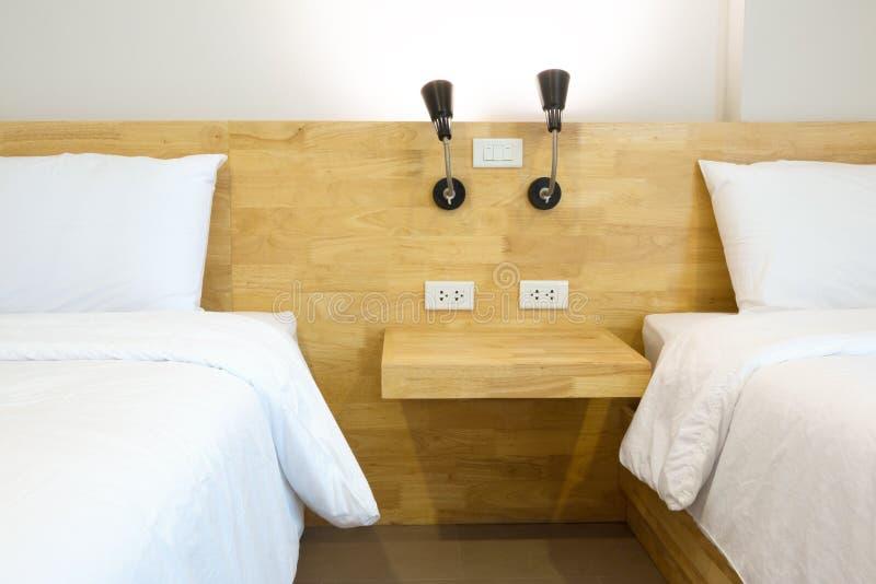 Dachbodenschlafzimmer stockfotografie