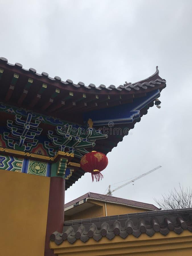 Dachgesimsbogen-c$lianchi Tempel, Nanchang lizenzfreies stockfoto