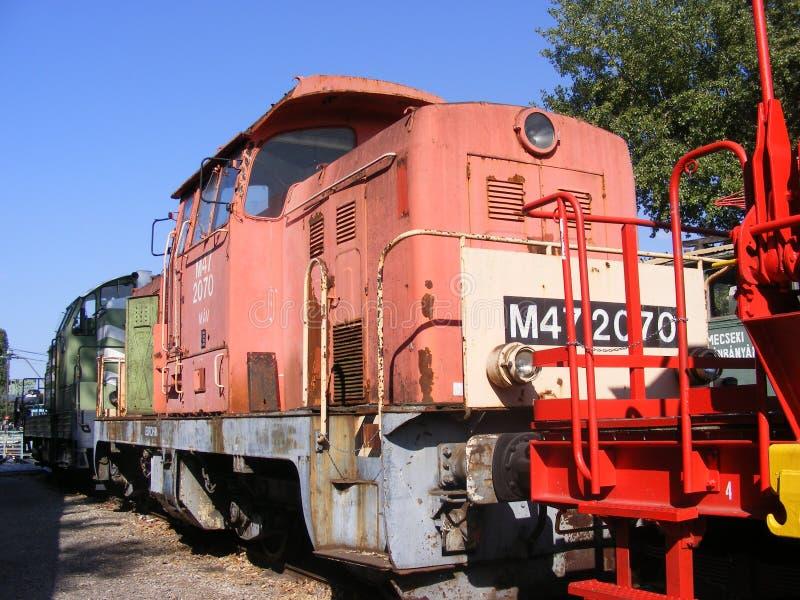 Dachia-Zug lizenzfreies stockbild