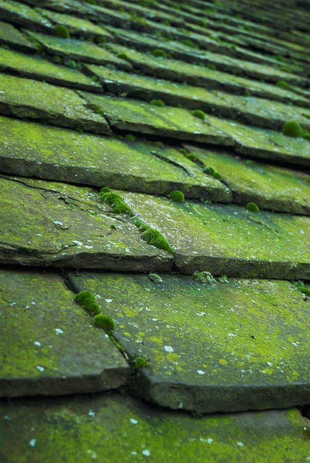 dachowe kamienne płytki obraz stock