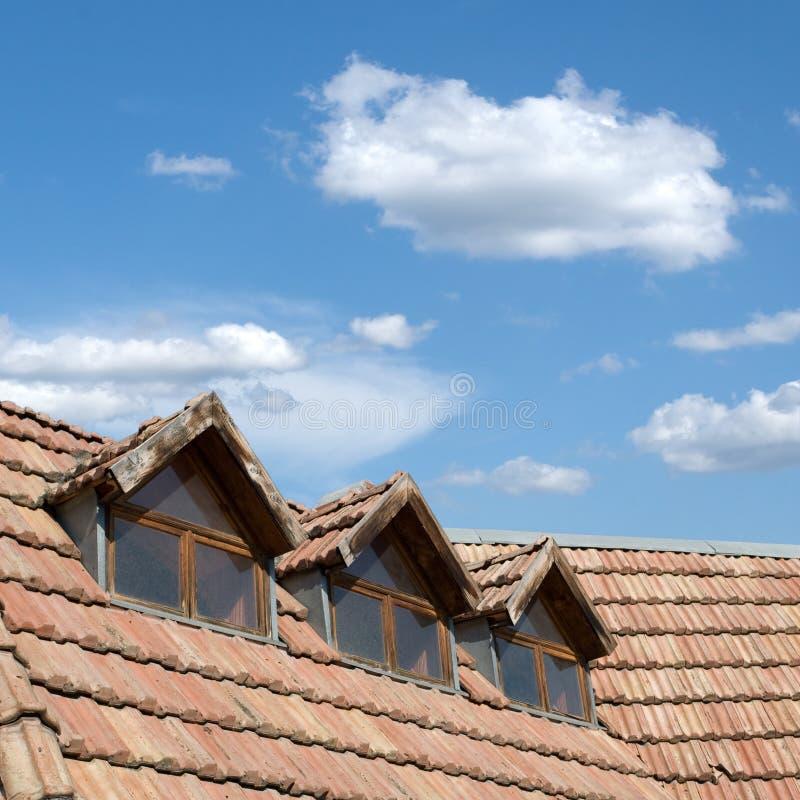 dachowy niebo zdjęcia stock