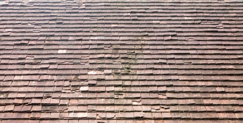 Dachplattehintergrund stockbild