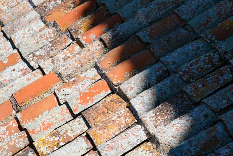 Dachplatten um Spanien stockbilder
