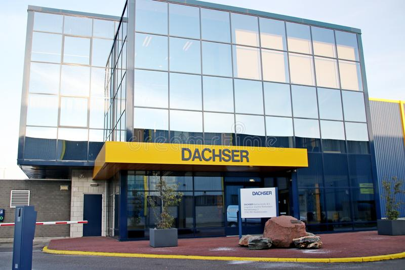 Dachser distribution center for cargo and storage at Doelwijk in waddinxveen the Netherlands. stock image