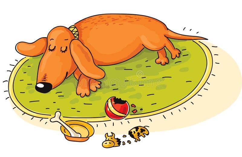 dachshund royalty illustrazione gratis